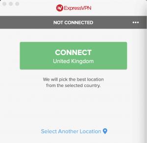 Forbind til VPN med en enkelt klik.