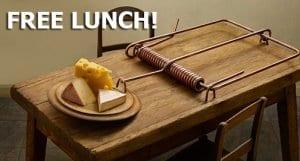 """Tænk dig om inden, du begynder at bruge en gratis VPN. """"The only free lunch is found in a mouse trap."""""""
