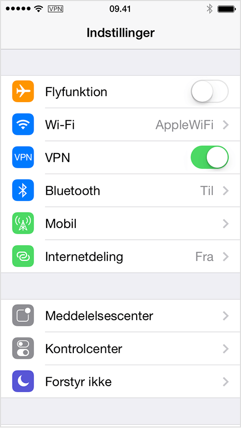 toggle vpn ios iphone ipad ipod