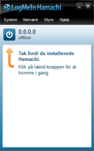 hamachi vpn user interface